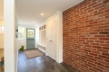 Original Red Brick Wall, Kept For Character