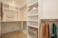 Walk-In Closet With Hook-Ups for Laundry